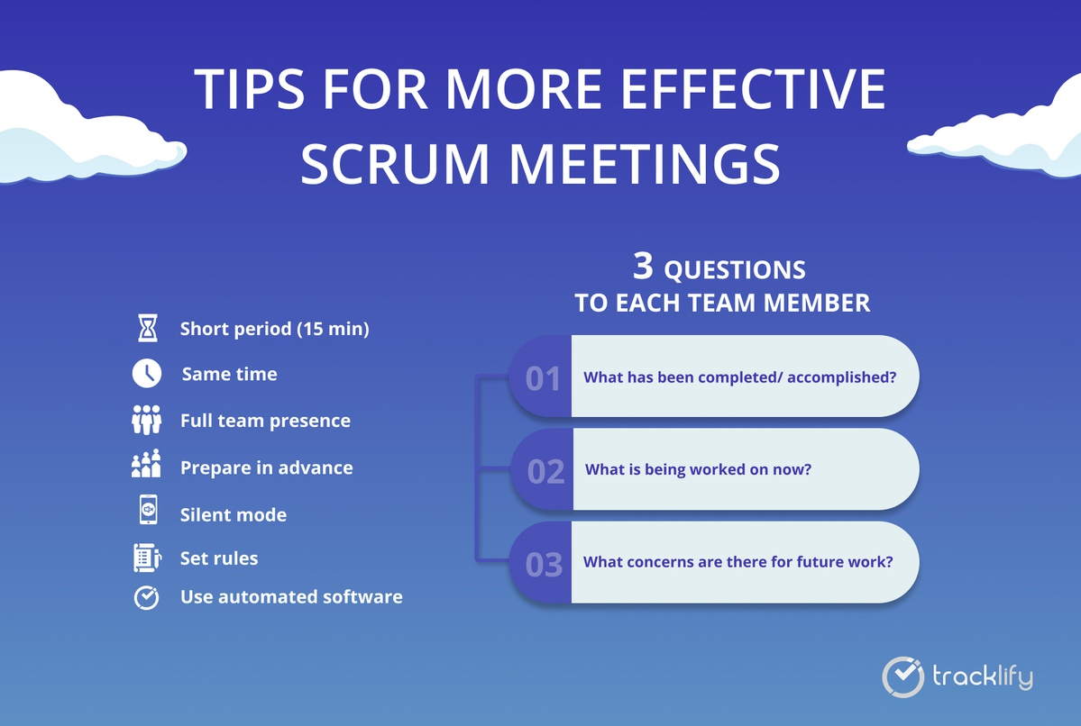 Tips for more effective scrum meetings